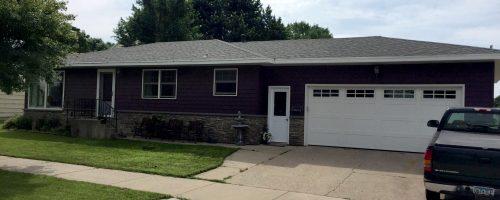 Home exterior remodel after